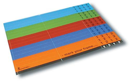 Isabella Coloured labels for poles (1 pcs.)