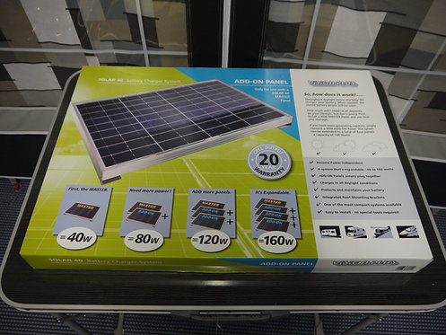 Solar 40 Battery Charger System Add-on