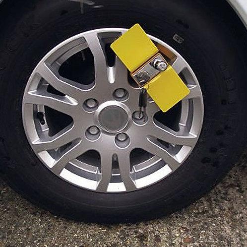 Milenco Compact C Wheel Clamp - Fits Alloy & Steel Wheels