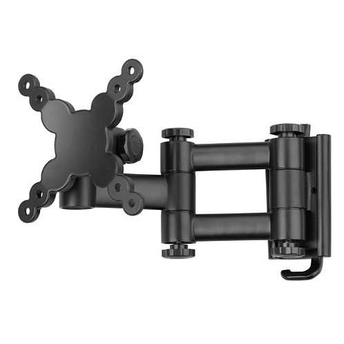 Vision Plus Double Arm LCD TV Wall Bracket - Black