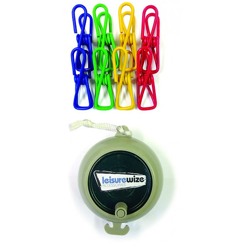 Leisurewize Retractable Washing Line Kit