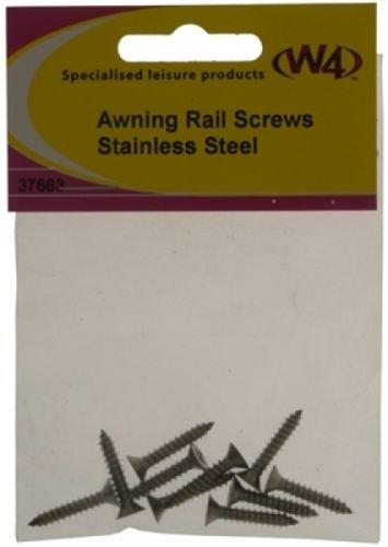 W4 AWNING RAIL SCREWS - PACK OF 10 37663