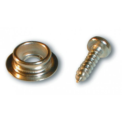 Isabella Press stud with screws for van (10 pcs.)