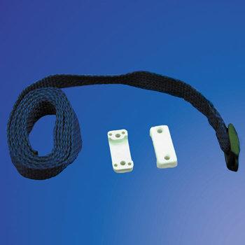 1250mm Blue Strap c/w 2 Brackets