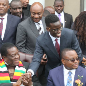 Emergination Africa Presents to His Excellency President Emmerson D. Mnangagwa of Zimbabwe