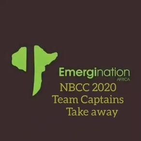 NBCC 2020 Team Captains words of advise