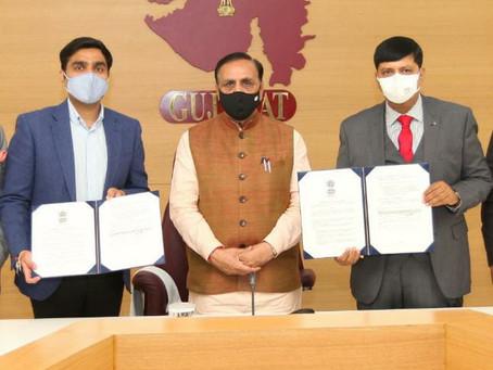 Gujarat govt – Adani sign MoU to set up India's largest multi-model logistic park at Virochannagar