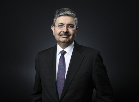 Billionaire banker Uday Kotak says now's the best time to invest in India