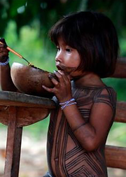 Amazonian child with jagua tattoo.png