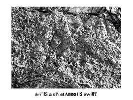"""Pierre de Pollock/Pollock rocks/Pollock in seinem Dada Rock"""