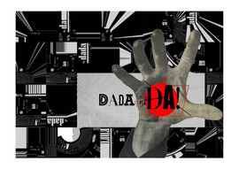 """Dada is Soviet! Dada is alive, Dada is for all! Dada of the people, for the people, by the people, We want DADA!  """"Dadaism demands: 1) The international revolutionary union of all creative and intellectual men and women on the basis of radical Communism; 2) The introduction of progressive unemployment through comprehensive mechanization of every field of activity. Only by unemployment does it become possible for the individual to achieve certainty as the truth of life and finally become accustomed to experience; 3) The immediate expropriation of property (socialization) and the communal feeding of all; further, the erection of cities of lights, and gardens which will belong to society as a whole and prepare man for a state of freedom"""", Huelsenbeck and Hausmann, 'What is Dadaism and what does it want in Germany'."""