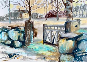 Старая ограда. Эльвдолен