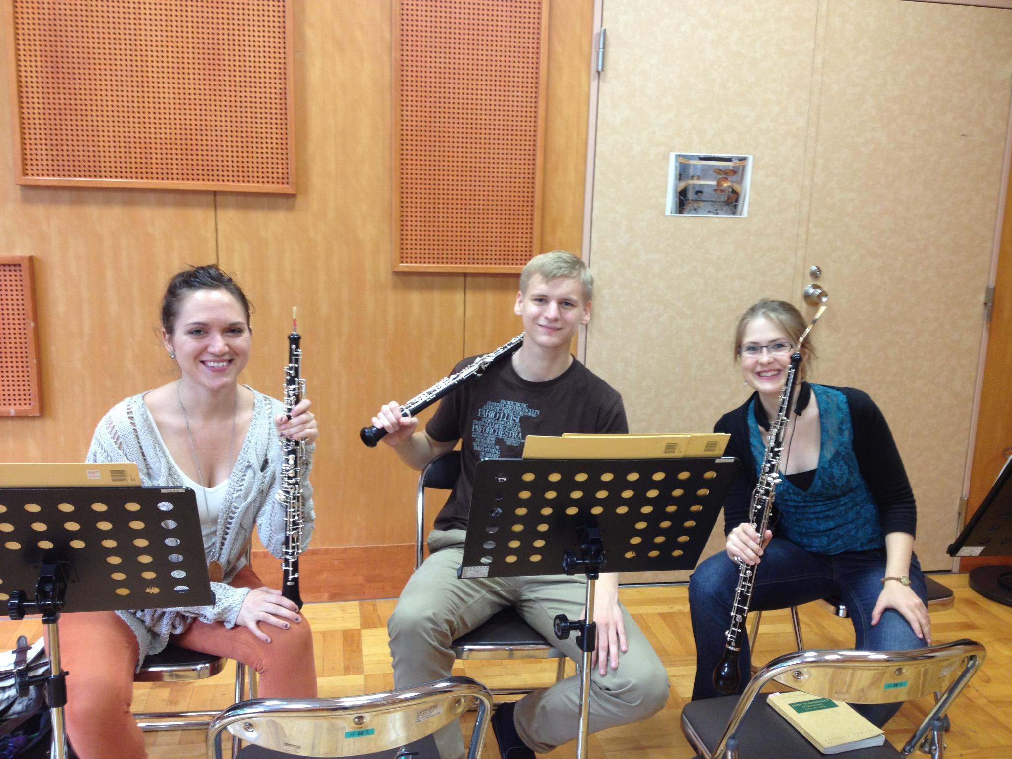 OBOE SECTIONAL IN JAPAN