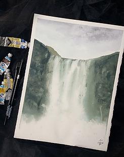 Инна Нагайцева. Водопад