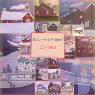 Creek Fire Porject, 23 Homes