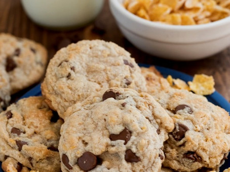Cereal Isn't Just For Breakfast. It Makes Cookies More Crispy...