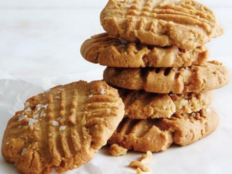 Peanut Butter with Sea Salt Cookies