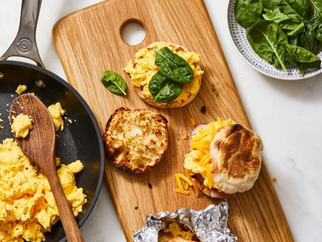 Skip the drive-thru line and prep these microwavable breakfast sandwiches instead.