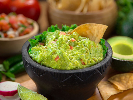Guacamole brings fresh flavors together for the perfect celebration.