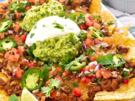 Nacho's make a great quick dinner...