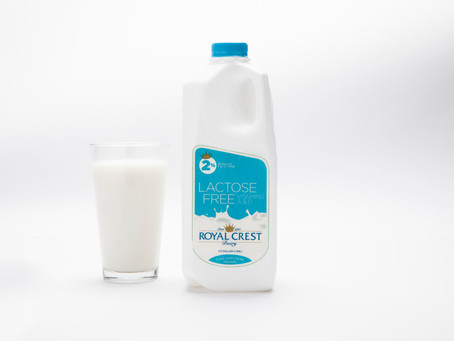 Yes, it's true. Royal Crest Dairy now has 2% Lactose Free Milk!