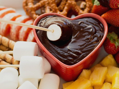 Celebrating Valentine's Day At Home This Year?  Indulge In Chocolate Fondue.