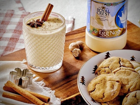 Drinking Royal Crest Eggnog Is A Classic Holiday Tradition...