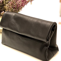 Black  Lunch Clutch