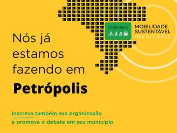 Campanha Mobilidade Sustentável nas Eleições 2020