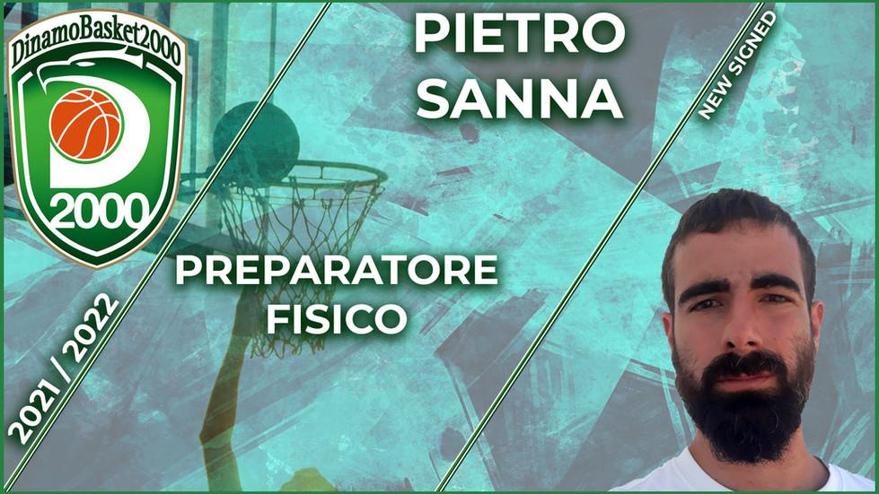 Pietro Sanna nuovo preparatore fisico