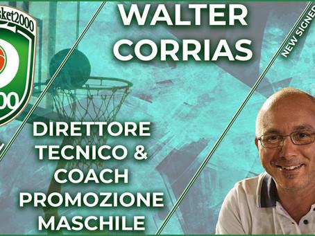 WALTER CORRIAS È IL NUOVO DIRETTORE TECNICO E HEAD COACH PRIMA SQUADRA