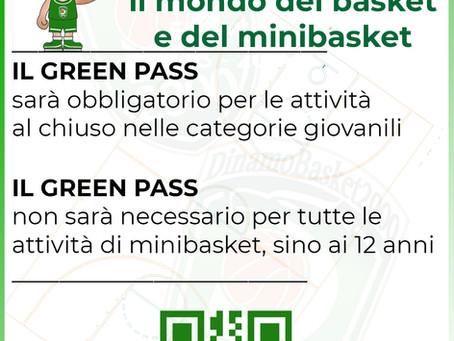 Green Pass, come si adegua la pallacanestro