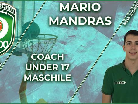 Una vita in biancoverde: Mario Mandras è l'allenatore dell'Under17 maschile