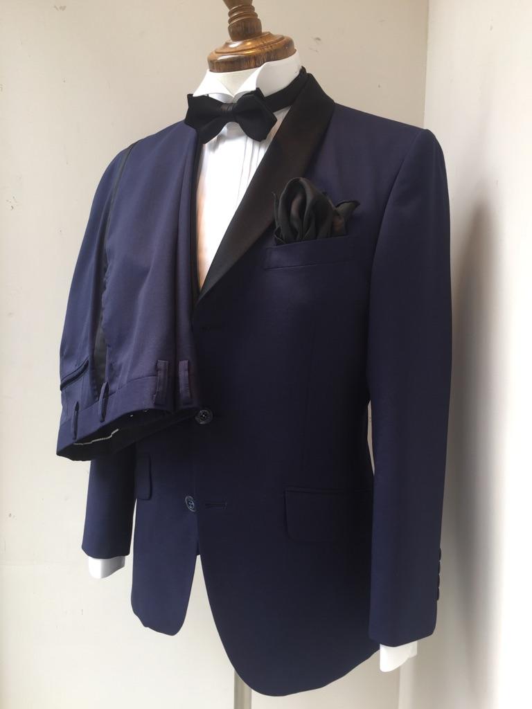 Blue Navy Tuxedo