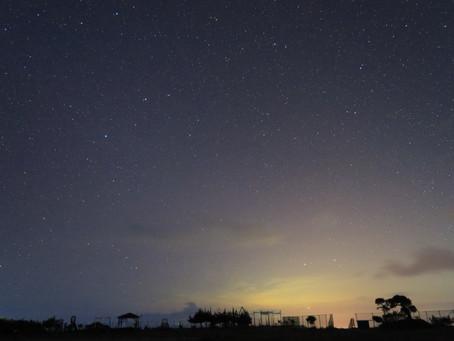 星空ツアーの下見