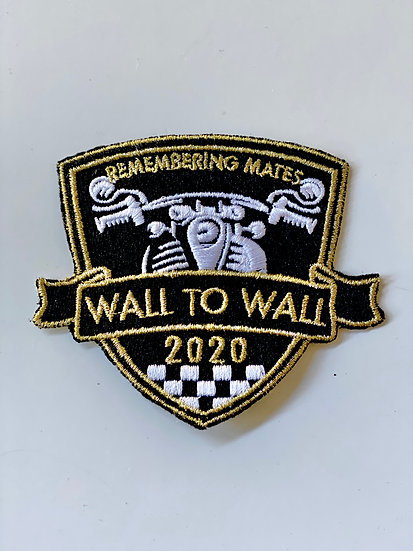 2020 EMBROIDERED OFFICIAL PATCH
