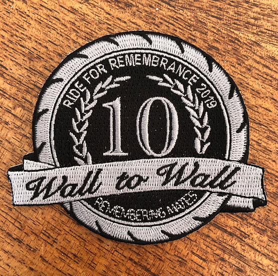 2019 EMBROIDERED OFFICIAL PATCH