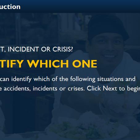 An Interactive Safety Course