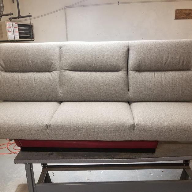camper sofa