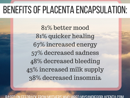 The Top 7 Benefits of Placenta Encapsulation