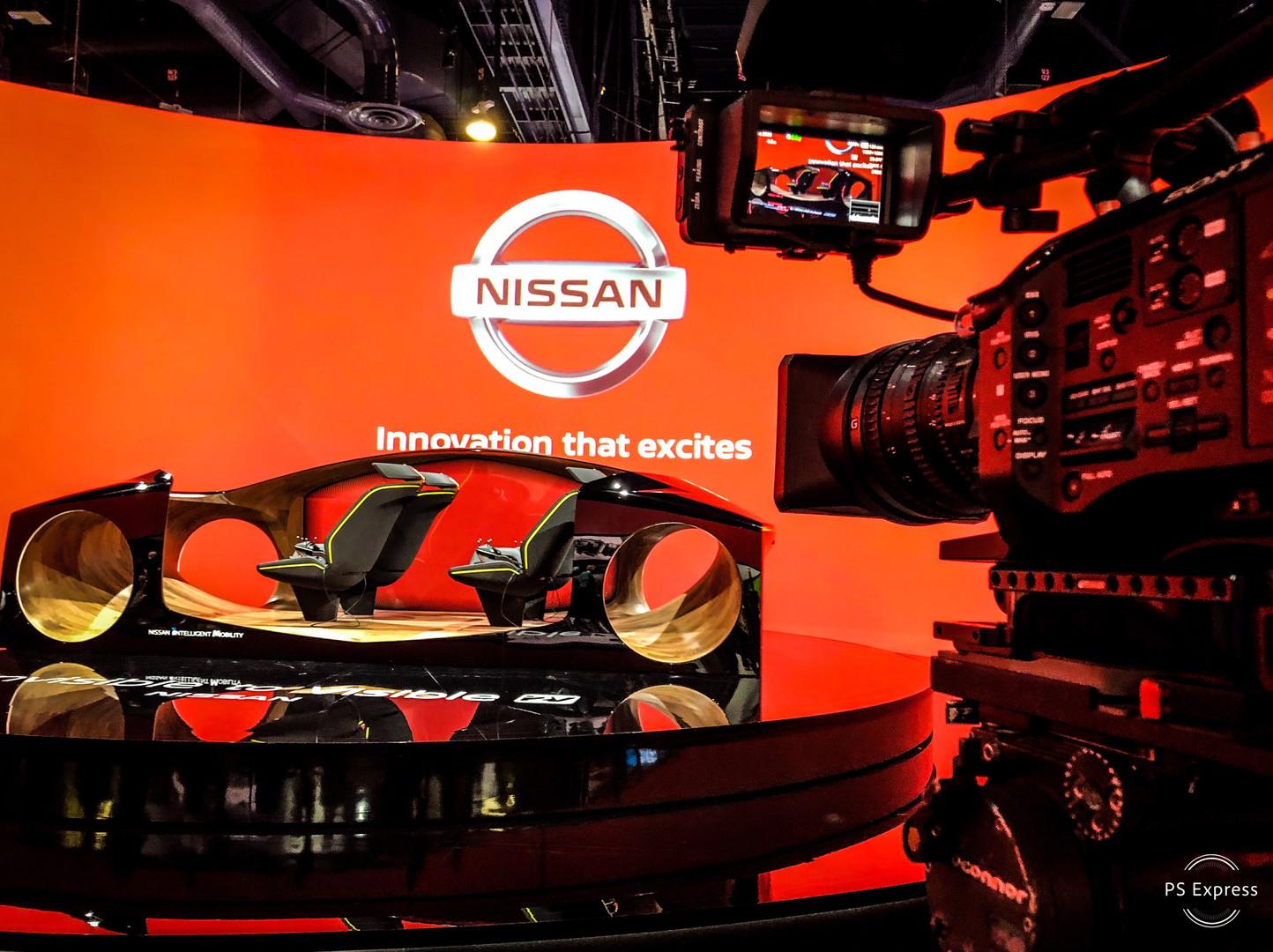 CES 2019 Nissan Booth, Las Vegas