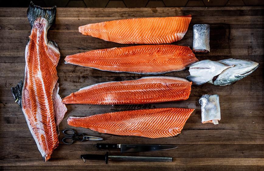 Otium Salmon Prep, Los Angeles