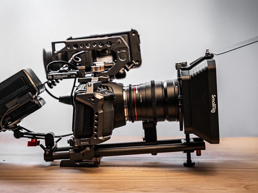 Cinematic Production Equipment Now Available!