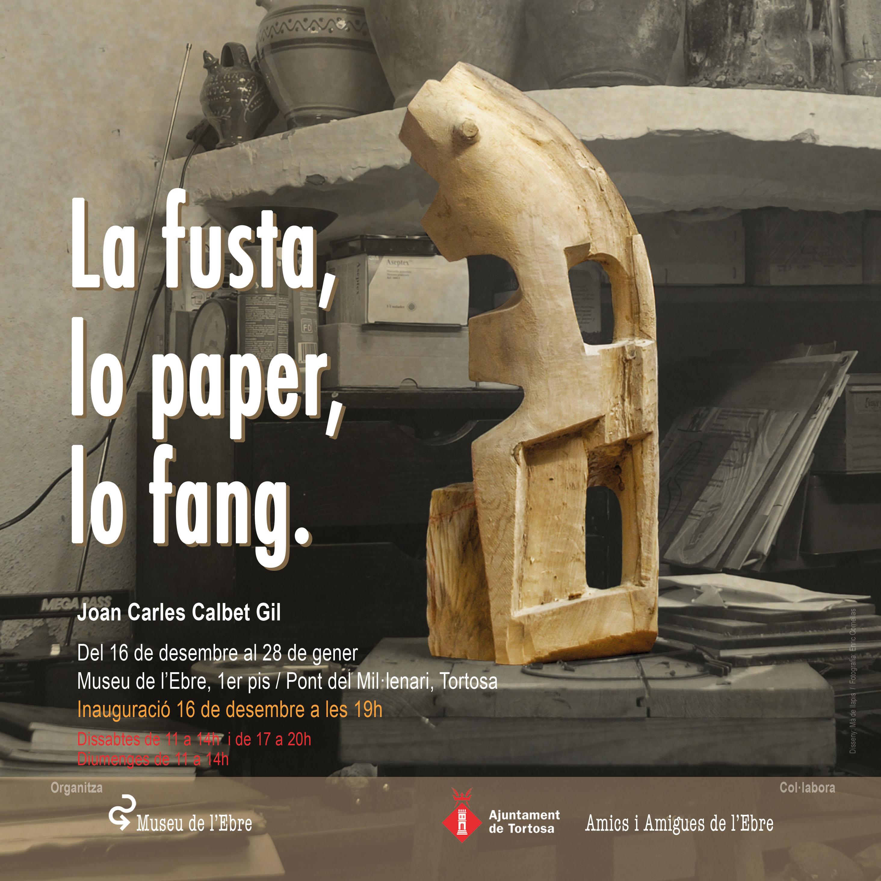 La fusta, lo paper, lo fang
