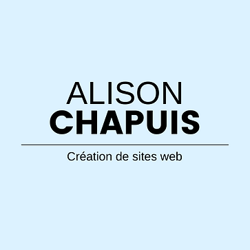 Alison Chapuis Webmaster Freelance Création de sites web dans le golfe de saint tropez