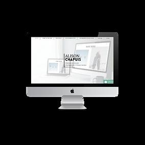 Alison Chapuis création de sites web dans le golfe de saint tropez et à distance
