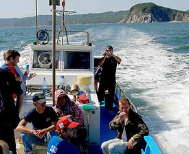 морские прогулки экскурсии фототуры на орлане