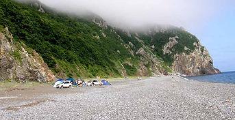 отдых в палатках бухта Орлан