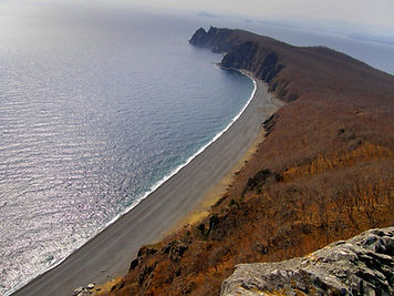 Вид на бухту Орлан с орлиных скал