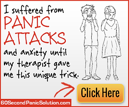 Anxiety, anxiety relief, panic attacks
